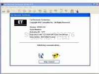 CAT ET  Diagnostic Adapter III C3 with ET 2014A  Crake program+2014 SIS