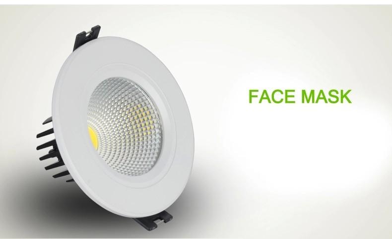Светодиодная лампа MES 5 X Downlights 3W 5W 7W 9W 12W 15W светодиодная лампа oem b22 3w 5w 7w 9w 12w 15w 220v ce fcc