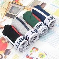 4 PCS/LOT Hot Fashion High Quality Best Price Men's Underwear Cotton Mens Boxer Man Shorts New
