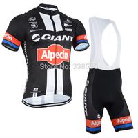 High Quality! New 2014 cycling jersey full zipper/cycling wear cycling clothing Bib shorts men women  Breathable quick dry S-3XL