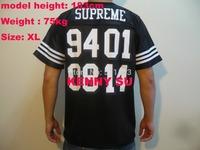 Rare 2014 new hip hop men 20th Anniversary football top jersey short sleeve tshirt