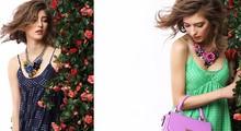 Flower necklace/Korean designer brand luxury fashion jewelry women sweater accessories wholesale/maxi colar/collier/bijoux