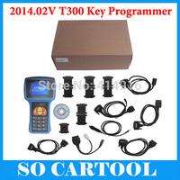 2014 Promotion T300 key programmer Newest version V14.2 universal car key transponder DHL Free shipping