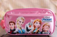 New Frozen Pencil Box Anna Elsa Pen Bag Cute Olaf Bag Student Bag School Bag