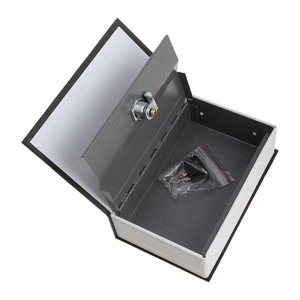 New 2014 Super Household Organizer English Style Mini Dictionary Book Safe Box Safety Cash Box Valuables 2 keys Free Shipping(China (Mainland))