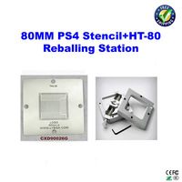 Free shipping!! 80 x 80mm PS4 Stencil for BGA reballing CXD90026G 0.25mm + 80mmx80mm bga reballing station