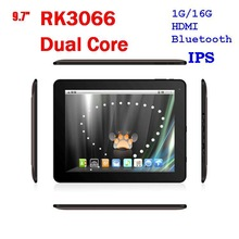 SALE! 9.7nch Dual Core IPS screen Tablet PC RK3066 1G/16GB HDMI Bluetooth metal shell(China (Mainland))