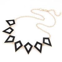 Fashion Spike Enamel Choker Collar Necklaces for Women Jewelry Gold Plated Statement Gargantilha Colares Femininos Bijoux 2014