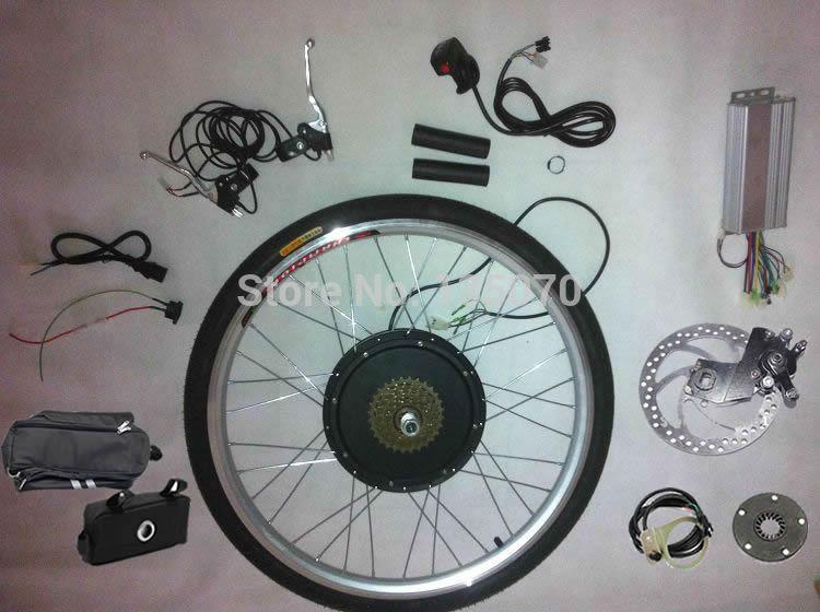 "Max. 58km/h! 48V 1000W 14"" rear drive bike electric conversion kit(China (Mainland))"