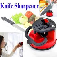 Suction Chef Pad Kitchen Sharpening Tool VIVI Knife Sharpener Scissors Grinder Secure