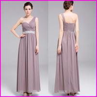 2014 New Arrival Long Evening Dress Formal Dresses Party Evening Elegant Vestidos Plus Size Women's One-Shoulder Backless Dress