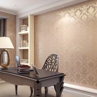 European style floral wallpaper roll, Living room bedroom mural wallpapers TV background PVC wall paper for walls Rolling Paper