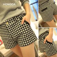 new 2014 women shorts fashion plus size short shorts femininos 2014 hot sell casual high waisted shorts for women saia S,M,L,XL