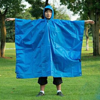 NatureHike-NH mountaineering raincoats outdoor poncho, tent floor mats, camping awning shelter blue orange 2300*1400