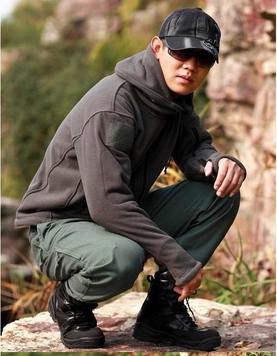 Открытый военный тактический куртка тепловой дышащий