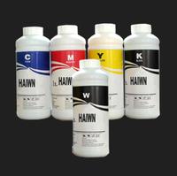 On sales!  GARMENT INK TEXTILE INK/ SILK FABRIC INK HAIWN-TX CMYKW / 0.5L