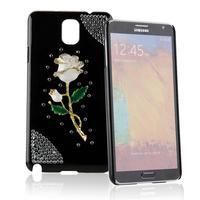 Rose Rhinestone Crystal Case Cover Skin Shell TPU for Samsung Galaxy Note 3