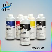 T-shirt printer machine ink / water based ink/chiffon ink CMYKW
