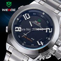 Weide Luxury Brand Men Business Watch Fashion Full Steel Watches Man Sport Quartz Wristwatch Military Watches MN4938