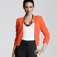Fashion 2014 Women Jacket Blazer Women Suit  Long Sleeve  Vogue Blazers OL Coat  Wholesale