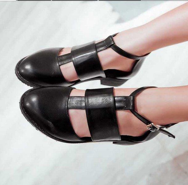 Grandi dimensioni donne 32-48 roma alla caviglia stile cinghie sandali scarpe estive sexy 2014 nuovi arrivi a punta a punta piatta sandali vintage