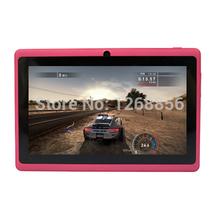 HOT!! Android Tablet PC, 7 inch Yuntab tablet, Dual Camera Q88 A23, Dual core, 1.5GHz, Dual camera, Android 4.4 OS, 512MB+8GB(China (Mainland))