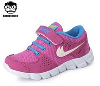 2014 new children's shoes for boys and girls internationally famous brand running shoes breathable shoes free shipping