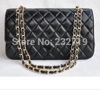2014 gold chain silver chain ladies shoulder bag, fashion Quilted Flap Bag brand designer bag,classic  le boy+Double Flaps