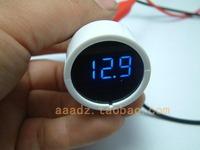 Car battery power tester digital voltage meter voltage detecting instrument for automobile instrument LED display