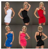 2014  Celeb Hollow Out Fashion Vestidos Elegant Women Party Novelty Dress Sleeveless Mini Club Summer Bandage Dresses 9090