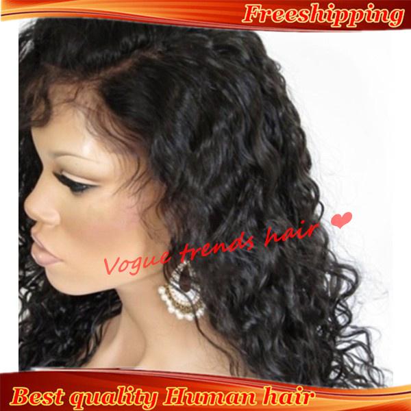 Cheap African American Human Hair Wigs 59