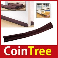 cointree 1 2 5 PCS x Twin Door Draft Dodger Guard Brown Stopper Energy Saving High Quality
