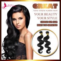 "5A Brazilian Virgin Hair Body Wave 1pc/lot Cheap Human Hair Weaves Natural Black 8""-24"" Weave Beauty E-Packet"