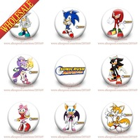 18Pcs  Frozen Cartoon Logo Buttons Pin Badges,30MM,Round Brooch Badge,Kids Toy,Mixed 18 models,Safty Pin  Decorate Bag/Clothing
