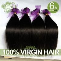 6A Peruvian Virgin Hair Straight 3/4pcs Lot Can Be Dyed Unprocessed Peruvian Hair Extensions Human Hair Weaves Cheap Virgin Hair
