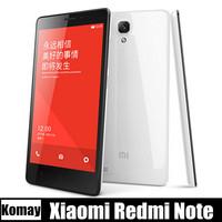 Original Xiaomi Red Rice hongmi Redmi Note LTE 4G , WCDMA MTK6592 Octa Core RAM 8G ROM Android 5.5 Inch HD IPS 13MP Mobile Phone