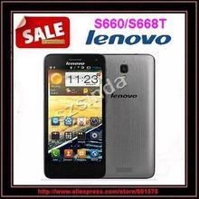 "lenovo original s660 mtk6582 quad core 3g smartphone 4.7"" ips pantalla qhd 8gb rom sim dual wcdma androide 4.2 8.0mp gps cámara(Hong Kong)"