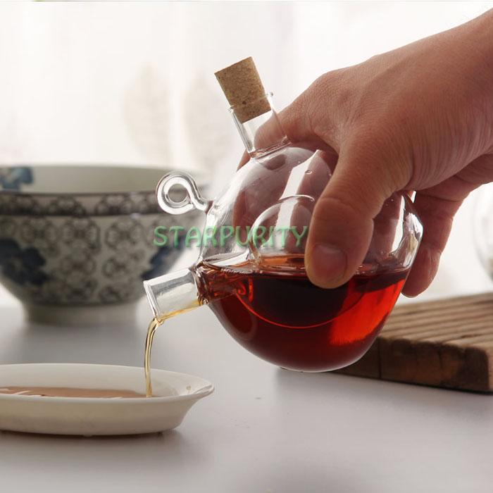 Vinegar soy cruet set season bottle for kitchen bar cooking tool kit