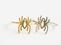 Christmas Jewellery 2014 Animal Midi Knuckle Ring Vintage Simple Plated Spider Ring For Women