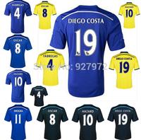 Top!Thai Quality 14/15 Chelsea Soccer Jersey 2015 Chelsea FC LAMPARD OSCAR TORRES HAZARD WILLIAN Chelsea 2015 Jersey