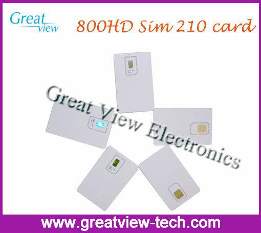 sim210 sim card 800hd Sim Card 210 2.10 for sunray 800hd 800 hd dm800 pro dm800hd satellite receiver cable receiver enigma2(China (Mainland))