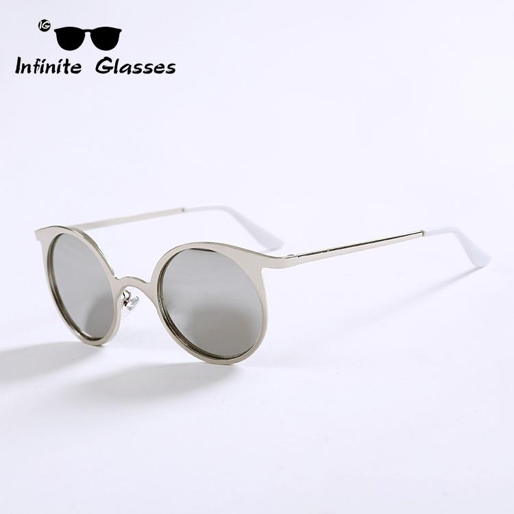 Retro 2015 New Metal Frame Sunglasses Vintage Infinite Glasses Coating Sunglass Fashion women men brand oculos de sol N9(China (Mainland))