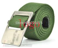Hot!2014 New Men brand canvas belts,male wide belt fashion leisure joker men's lady Thick Woven belt buckle Military Belt female