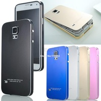 Brand New Fashion Ultra Thin All Metal Aluminum Case Cover for Samsung Galaxy S5 i9600 Phone Case Protective Shell B2 SV002931