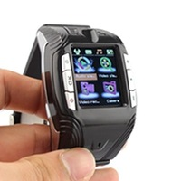 "New 2014  TFT Screen Cell Phone/1.33""Touch Screen Wrist Watch Phone/Cheap Watch Mobile Phone Black Yellow Red"