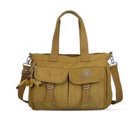 10 colors Foldable Water Resistant Crinkle bags nylon handbag women messenger bag furry monkey shoulder bags for  K012026