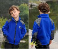 2014 winter medium-large male child outerwear TRENCH Children ski-wear twinset casual outdoor windproof waterproof jacket