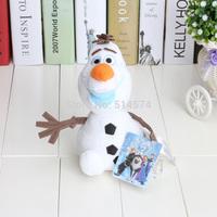 New Arrival 10pcs/set 8inch 22cm Cartoon Movie Frozen Olaf Plush Toys Olaf plush frozen plush