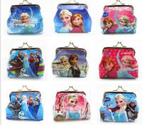 Momo - New fashion 10pcs/lot Kid baby girl Frozen Coin Purses, Baby  wallet/chilldren princess Elsa Anna money bag, Free Ship