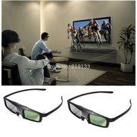 New 144Hz Universal DLP Link oculos,3D Active Shutter Rechargeable Glasses